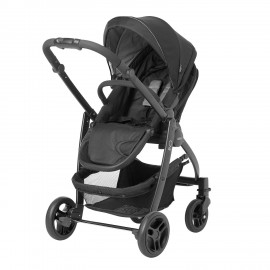 Carucior Graco Evo II Black Grey