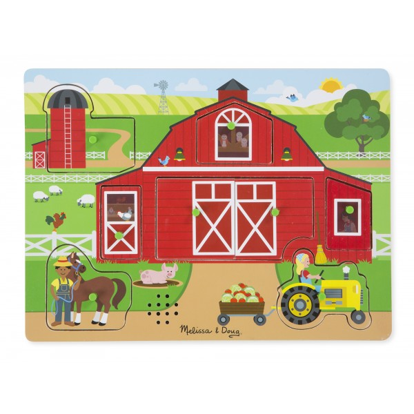 Puzzle sonor Ferma - Melissa and Doug