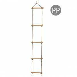 Scara cu trepte de lemn PP 2,5 m (1,80 m) 5 trepte