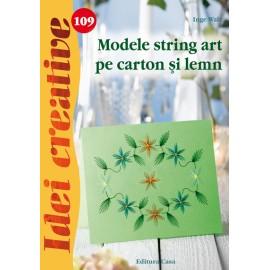Modele String Art Pe Carton Si Lemn - Idei Creative 109 imagine
