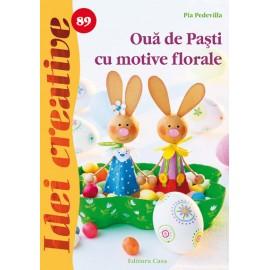 Oua De Pasti Cu Motive Florale - Idei Creative 89 imagine