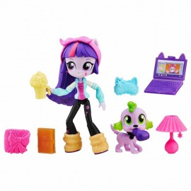 Mini papusi set figurina equestria girls si accesorii hbb4909