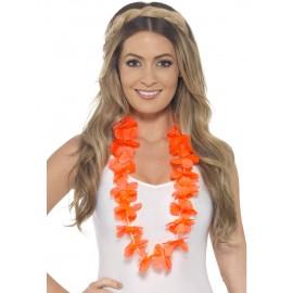 Ghirlanda hawaii portocalie