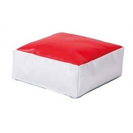 Puf rosu Powder Cube - Novum