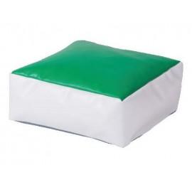 Puf verde deschis Powder Cube - Novum