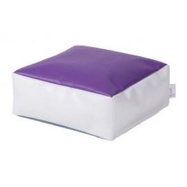 Puf violet Powder Cube - Novum