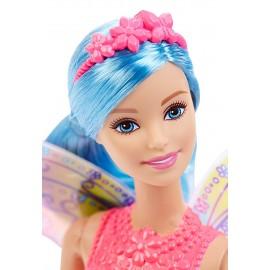 Papusa Zana Roz - Barbie Fairy Rainbow