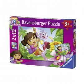 Puzzle dora 2x12 piese
