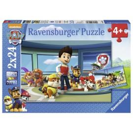 Puzzle patrula catelusilor 2x24 piese