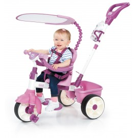 Tricicleta 4in1 roz neon