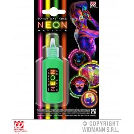 Machiaj verde neon - marimea 158 cm