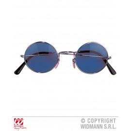 Ochelari hippie albastri - marimea 140 cm