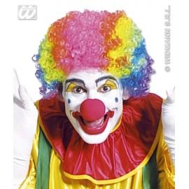 Accesoriu Carnaval - Peruca Clown Multicolora