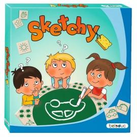 Joc pentru dezvoltarea imaginatiei Sketchy - Beleduc