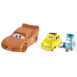 Fulger McQueen as Chester Whipplefilter si Luigi si Guido - Disney Cars 3
