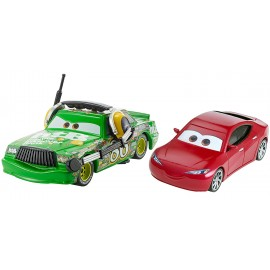 Chick Hicks with Headset si Natalie Certain - Disney Cars 3