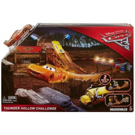 Set de joaca Thunder Hollow Challenge - Disney Cars 3