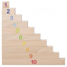 Set baghete pentru invatarea numerelor