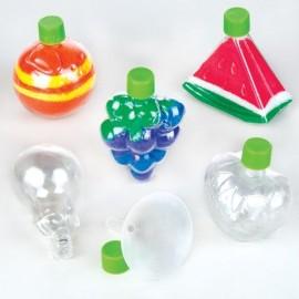 Set 6 recipiente pentru nisip colorat