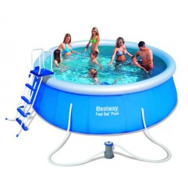Set piscina gonflabila rotunda 457cm