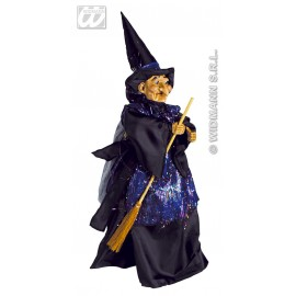 Decor Halloween - Papusa vrajitoare 50 cm