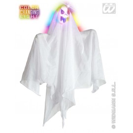 Decor Halloween - Fantoma cu cap luminos mica