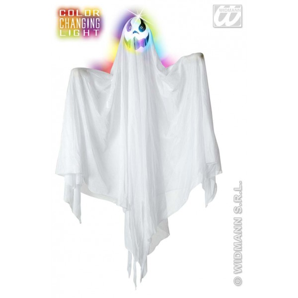 Decor Halloween - Fantoma cu cap luminos medie