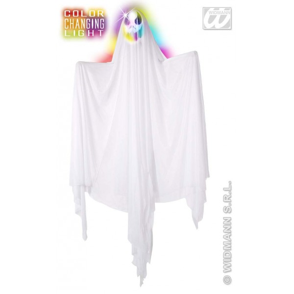 Decor Halloween - Fantoma cu cap luminos mare