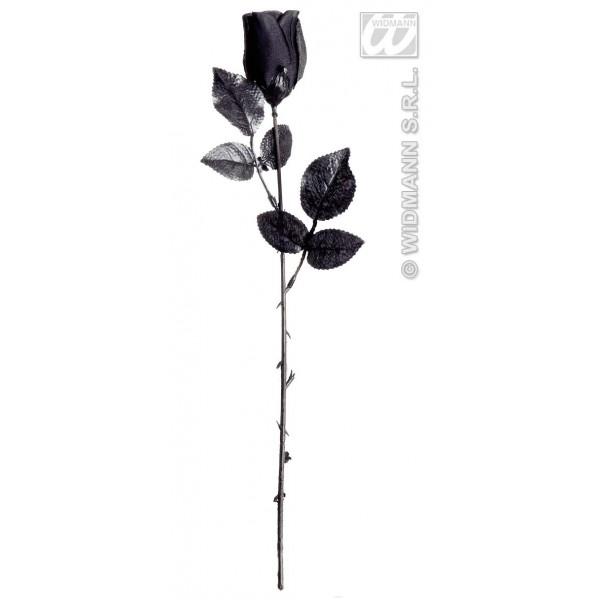 accesoriu carnaval trandafir negru ookee. Black Bedroom Furniture Sets. Home Design Ideas