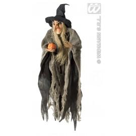Decor Halloween - Vrajitoare cu dovleac