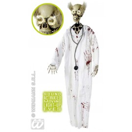 Decor Walloween - Doctor Skull