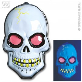 Decor Halloween - Craniu neon