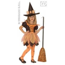 Widmann - Costum de carnaval copii - Micuta vrajitoare
