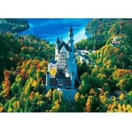 Clementoni - Puzzle HQ - Neuschwanstein - Germania
