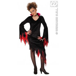 Costum carnaval copii Dark Mistress