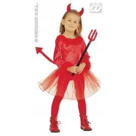 Costum Carnaval Copii Devil Girl