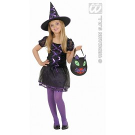 Costum Carnaval Copii Ribbon Witch