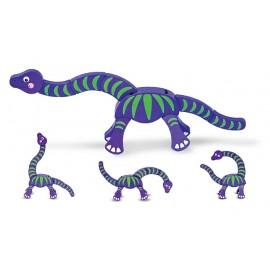 Melissa&Doug - Dinozaurul mancacios