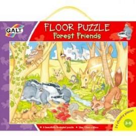 Galt - Forest Friends - Prietenii din padure - Puzzle podea 24 de piese