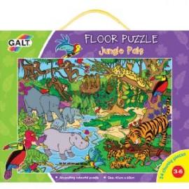 Galt - Jungle Pals - Prietenii din jungla - Puzzle podea 24 de piese
