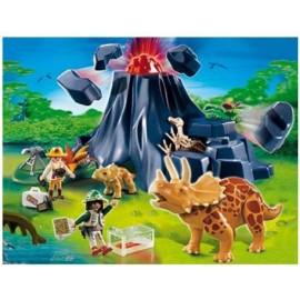 Playmobil - TRICERATOPS CU PUIUL