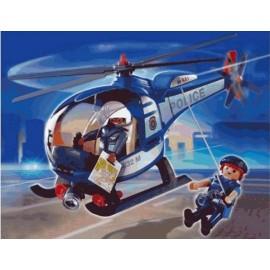 Playmobil - Elicopterul Politiei
