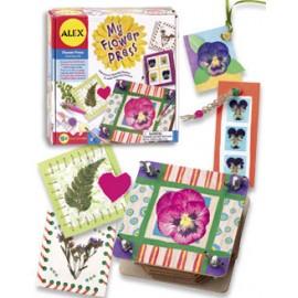 Alex Toys - Kit de creatie cu presa de flori