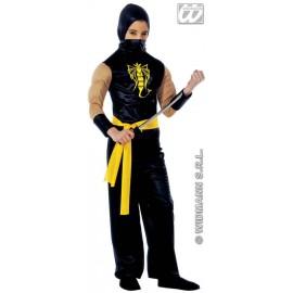 Costum carnaval baieti Ninja negru