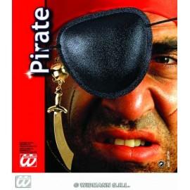 Accesoriu carnaval Set Pirat Eye Patch cu cercel