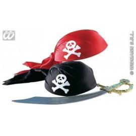 Accesoriu carnaval Bandana pirat 2