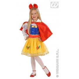 Costum carnaval fetite Mini Alba ca Zapada