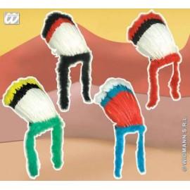 Accesoriu carnaval Bentita indian colori