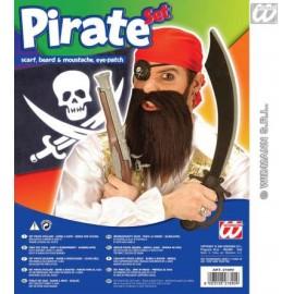 Accesoriu carnaval - Set Pirat cu barba
