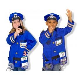 Melissa & Doug - Costum carnaval copii Ofiter de Politie